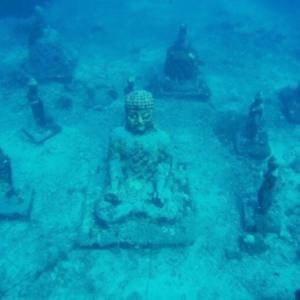 Underwater Buddha Temple | Bali