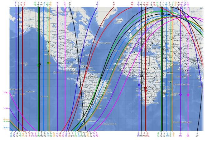 Astro-cartographie | destination | coup de coeur